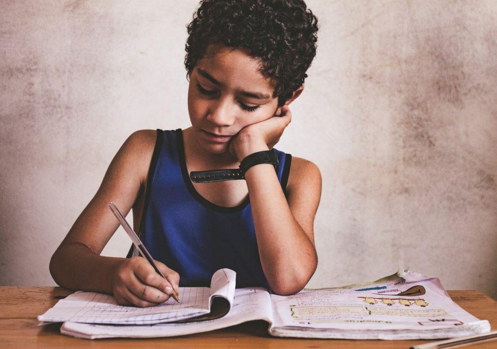 כתב יד של ילדים