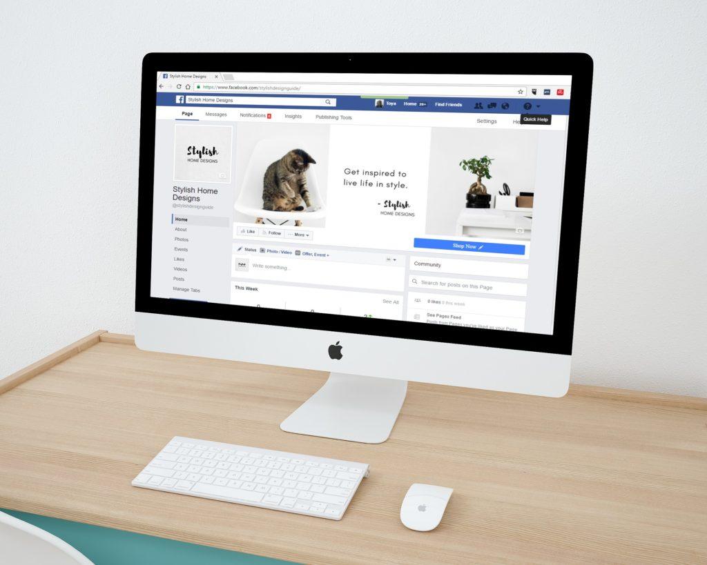 עיצוב עמוד עסקי בפייסבוק